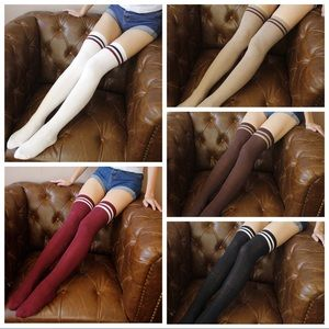 Accessories - Over the Knee Thigh High Socks - NWT